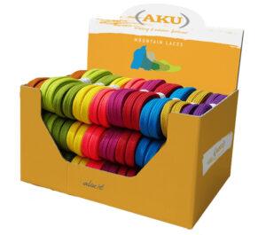 AKU - Flat laces box 30 pairs
