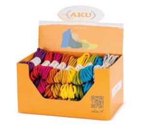 AKU - Round laces box 30 pairs
